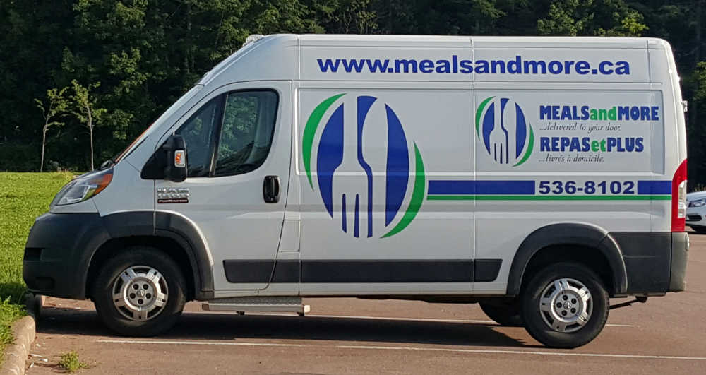 Meals and More delivery van